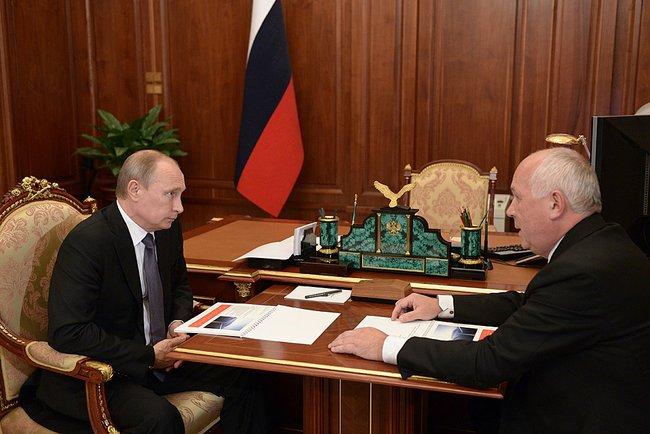 Путин и Чемезов