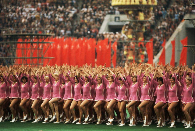Opening Ceremony for the 1980 Olympic Games