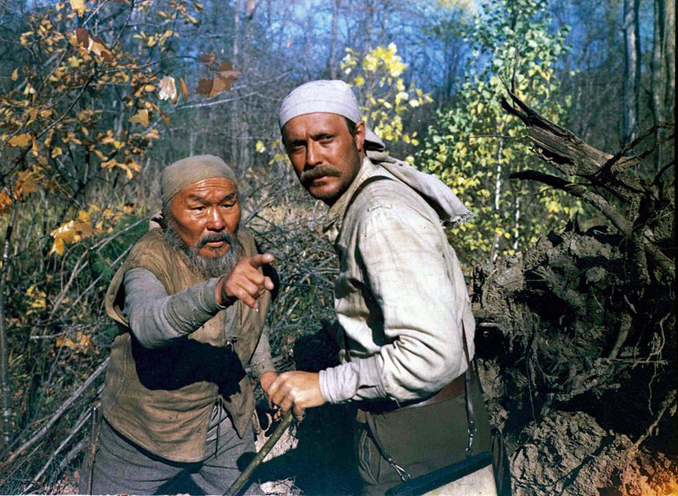 В 1975 году Оскара выиграл фильм Дерсу Узала. Совместный русско-японский проект под режиссерством классика кино Акиры Куросавы.jpg