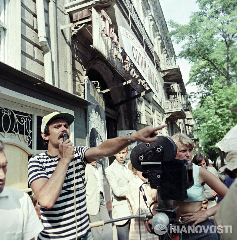 1975 Режиссер Никита Михалков на съемках фильма Раба любви.jpg