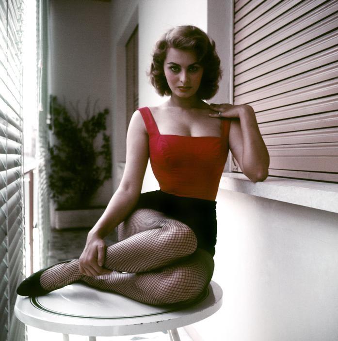 1955 Рим София Лорен David Seymour.jpg