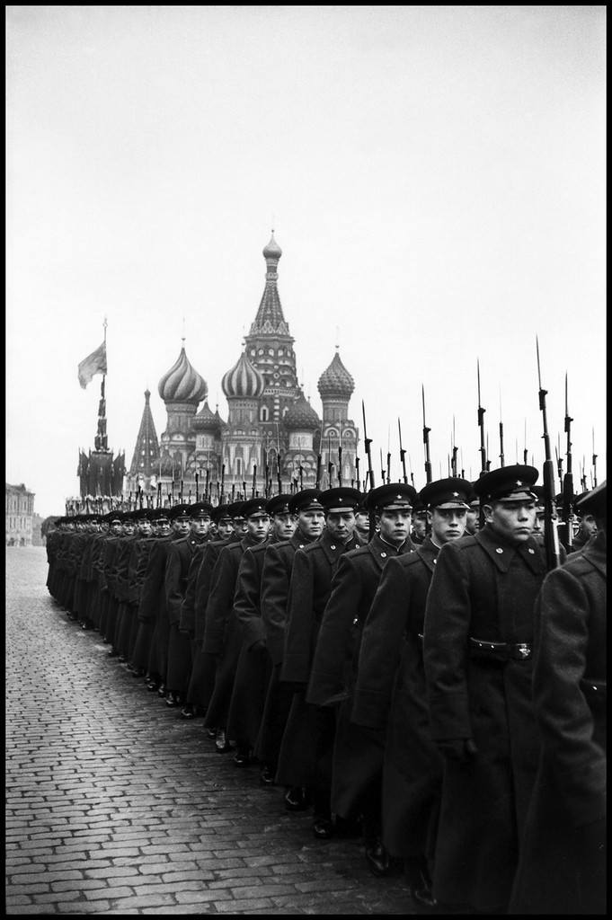 USSR. Moscow. 1957. Parade in Red Square for the 40th anniversary of the Bolshevik Revolution 3.jpg