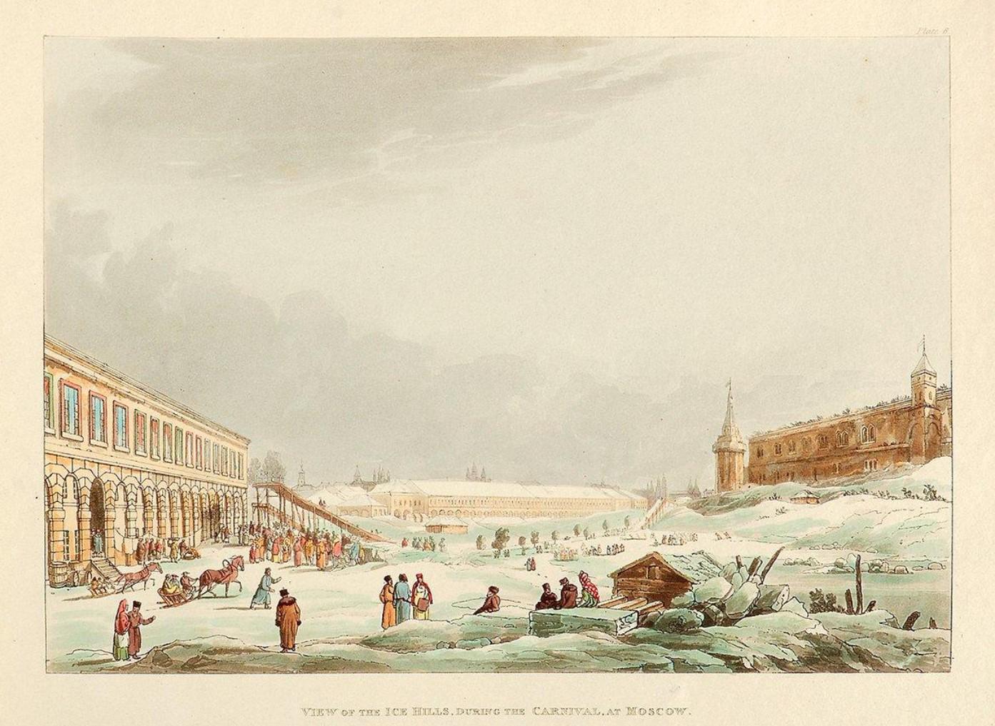 Вид ледяных гор («Лубяные горы на Неглинной улице»)