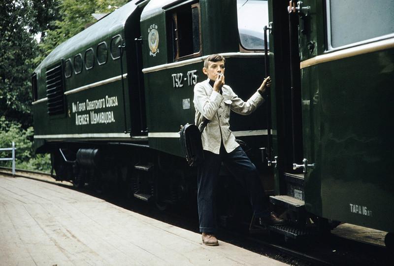 1959 ДЖД в Москве. Harrison Forman.jpg