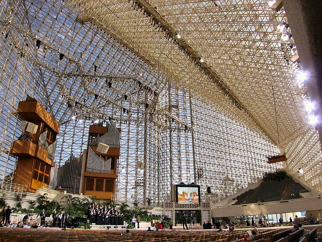 Хрустальный собор(Crystal Cathedral). США