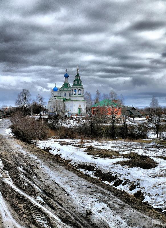 Сельская дорога, автор Андрей Кравченко.jpg