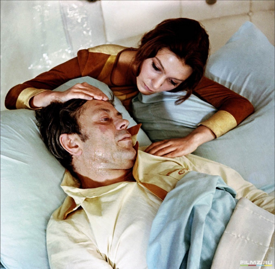 Донатас Банионис,  Наталья Бондарчук, Солярис 1972.