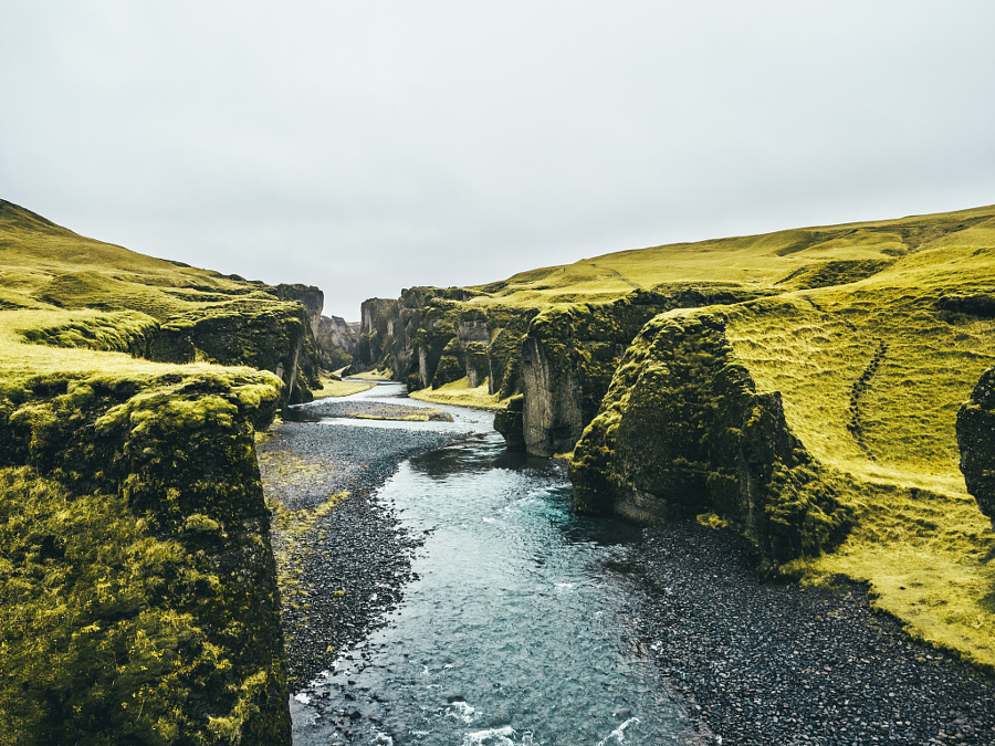 A masterpiece of nature, Fjaðrárgljúfur