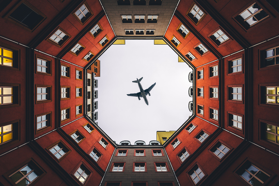 Colors of Berlin (w/an airplane on top) 1/2