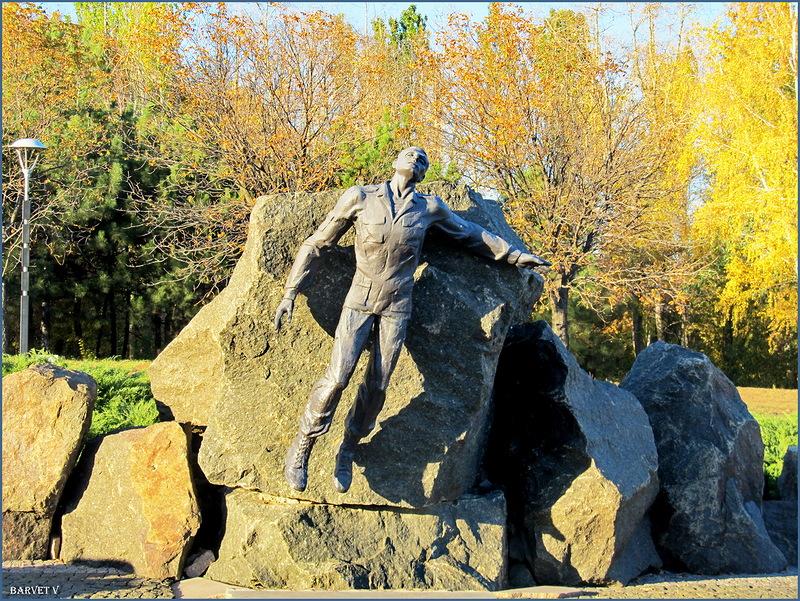 Памятник погибшим воинам -афганцам.