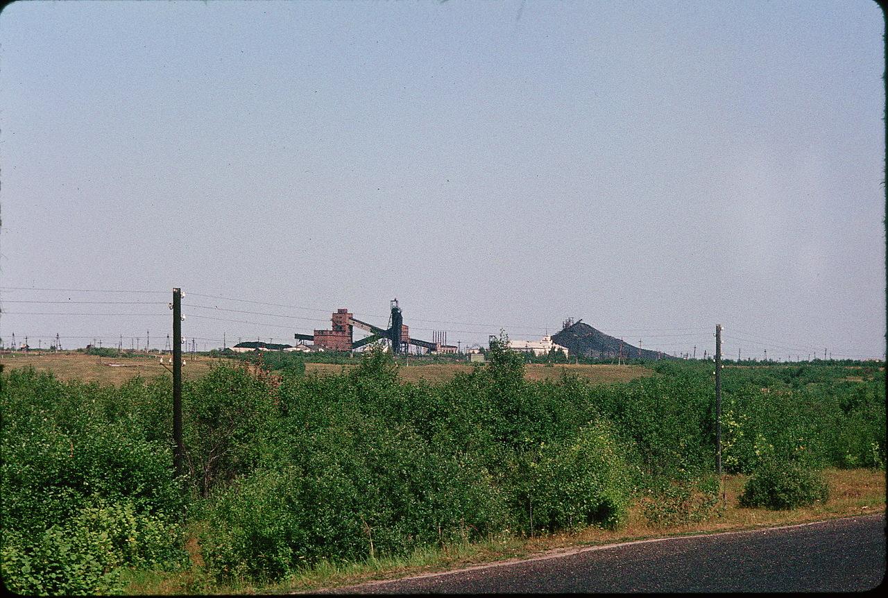 Угольная шахта близ Издешково
