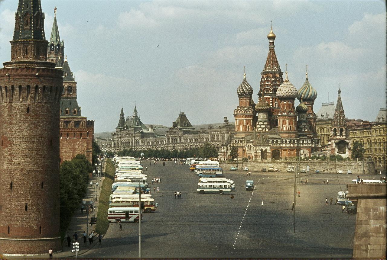 Красная площадь и собор Василия Блаженного