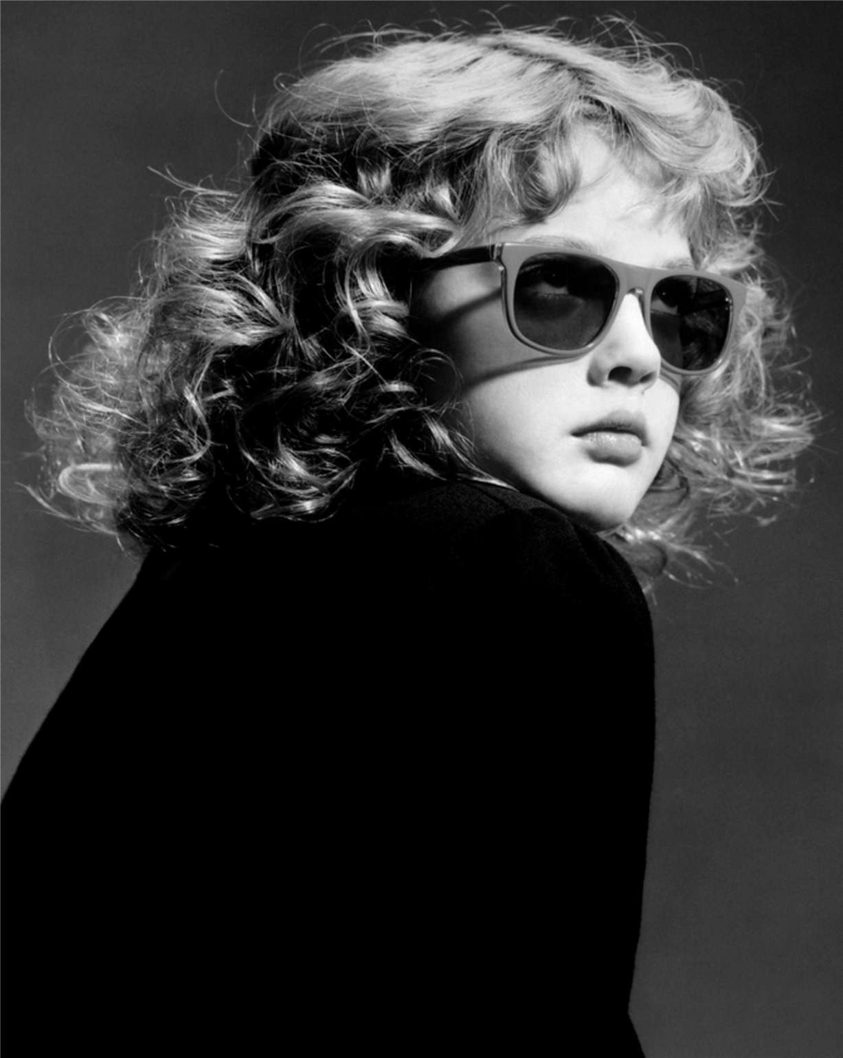 Drew Barrymore / Дрю Бэрримор - портрет фотографа Грега Гормана / Greg Gorman