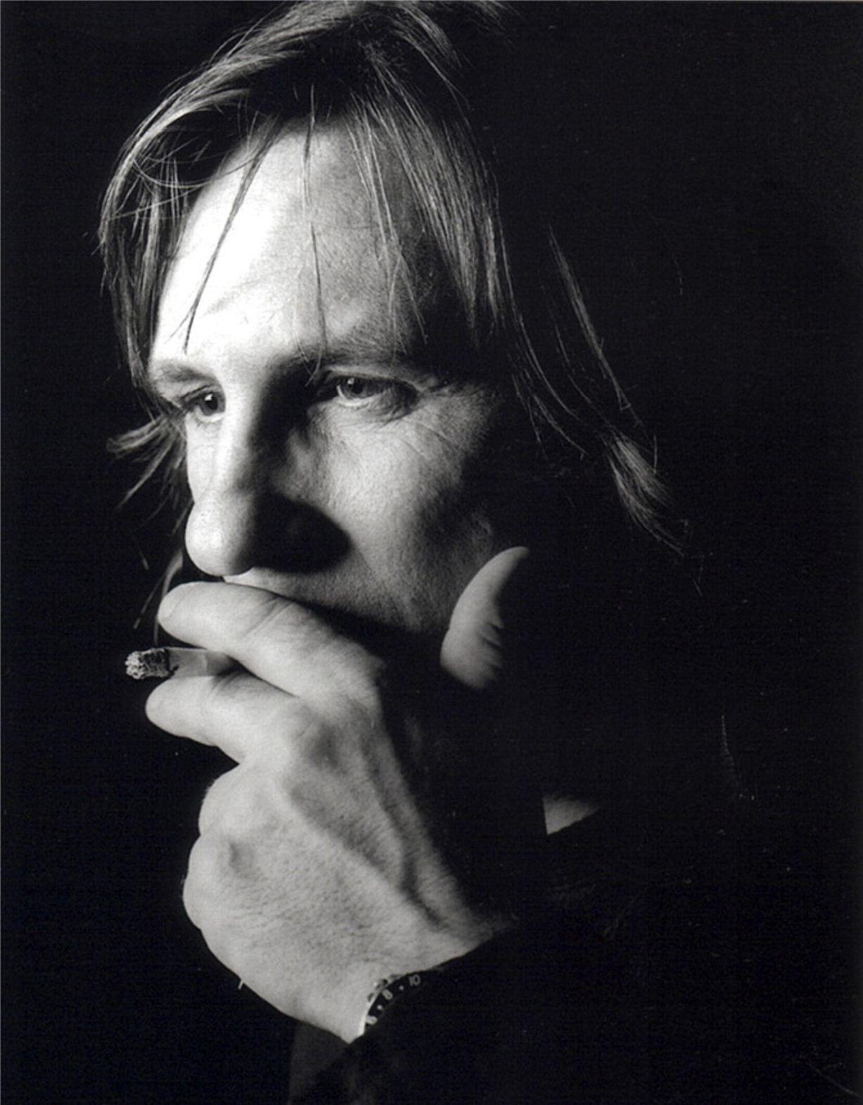Gerard Depardieu / Жерар Депардье - портрет фотографа Грега Гормана / Greg Gorman