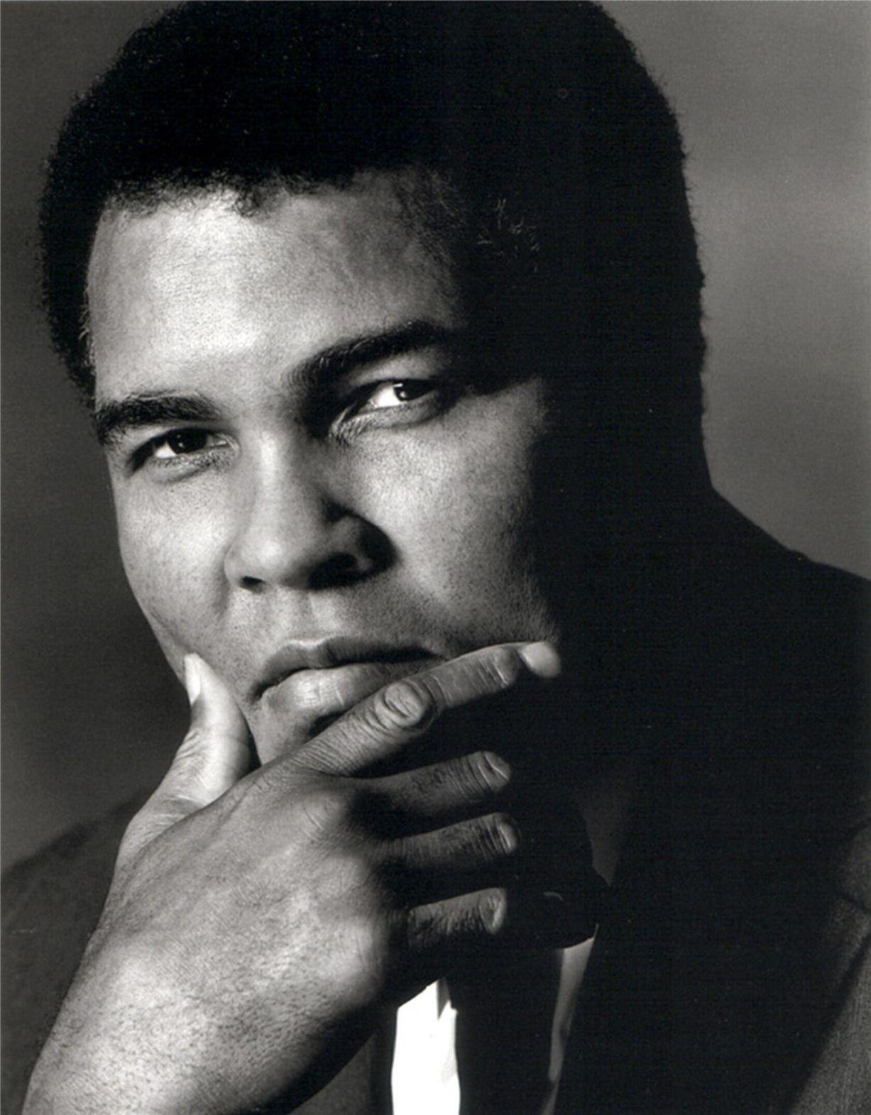 Muhammad Ali / Мохаммед Али - портрет фотографа Грега Гормана / Greg Gorman