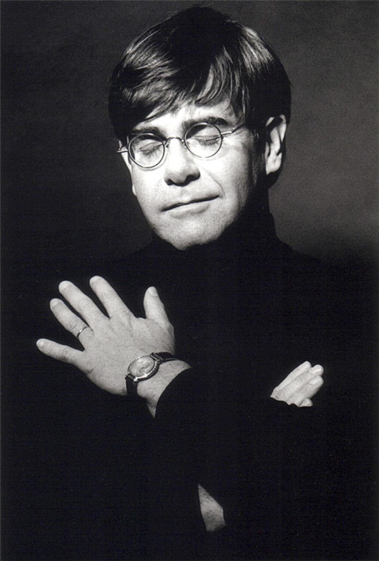 Elton John / Элтон Джон - портрет фотографа Грега Гормана / Greg Gorman