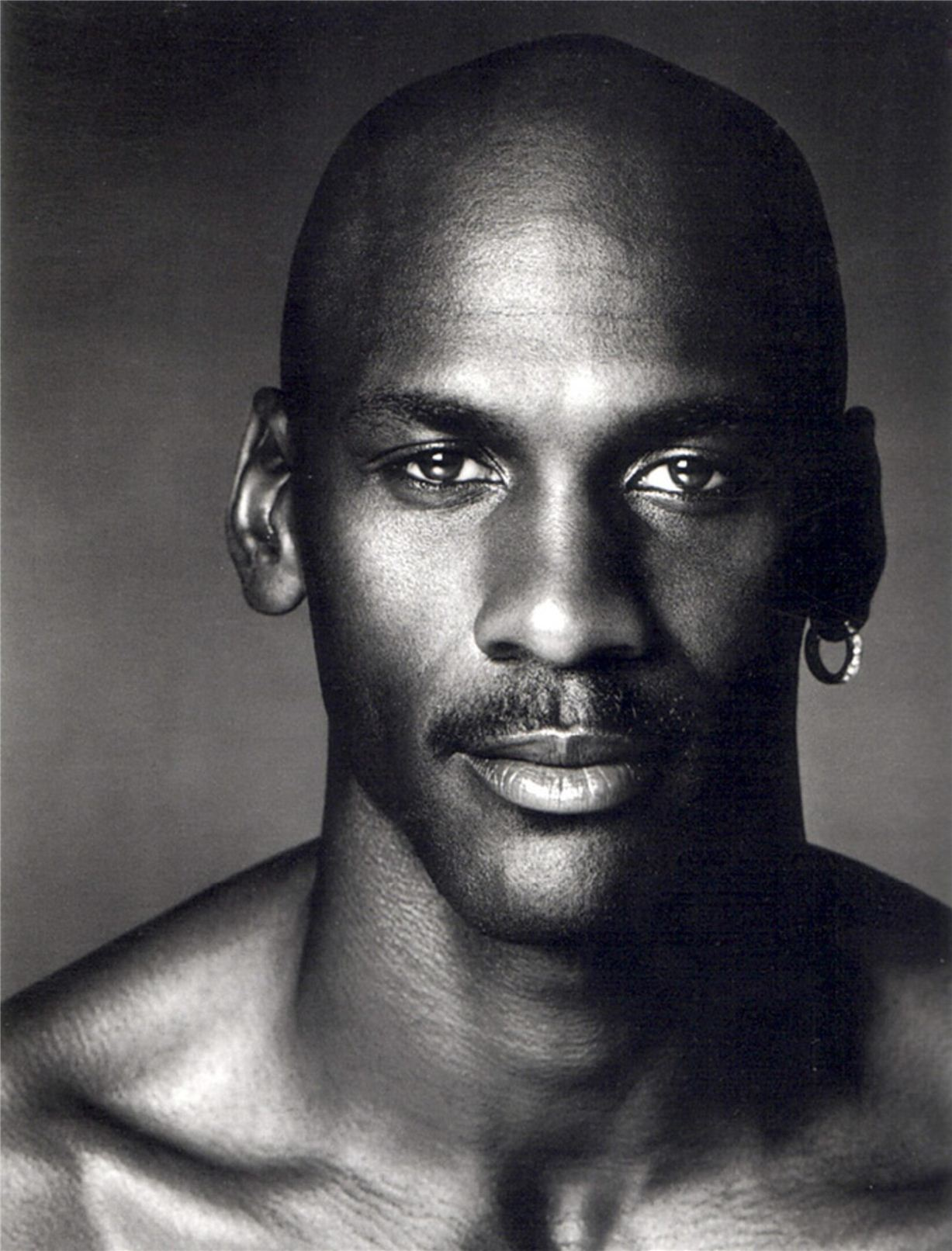 Michael Jordan / Майкл Джордан - портрет фотографа Грега Гормана / Greg Gorman