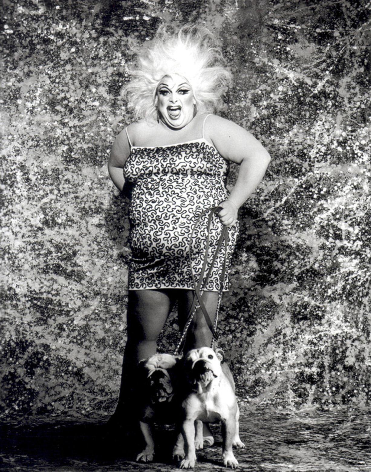 Divine / Дивайн - портрет фотографа Грега Гормана / Greg Gorman