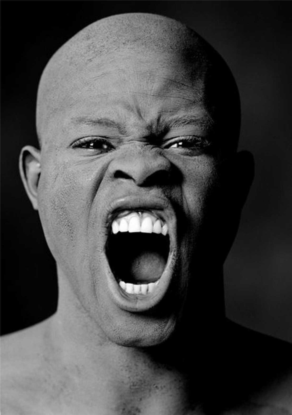 Djimon Hounsou / Джимон Хонсу - портрет фотографа Грега Гормана / Greg Gorman