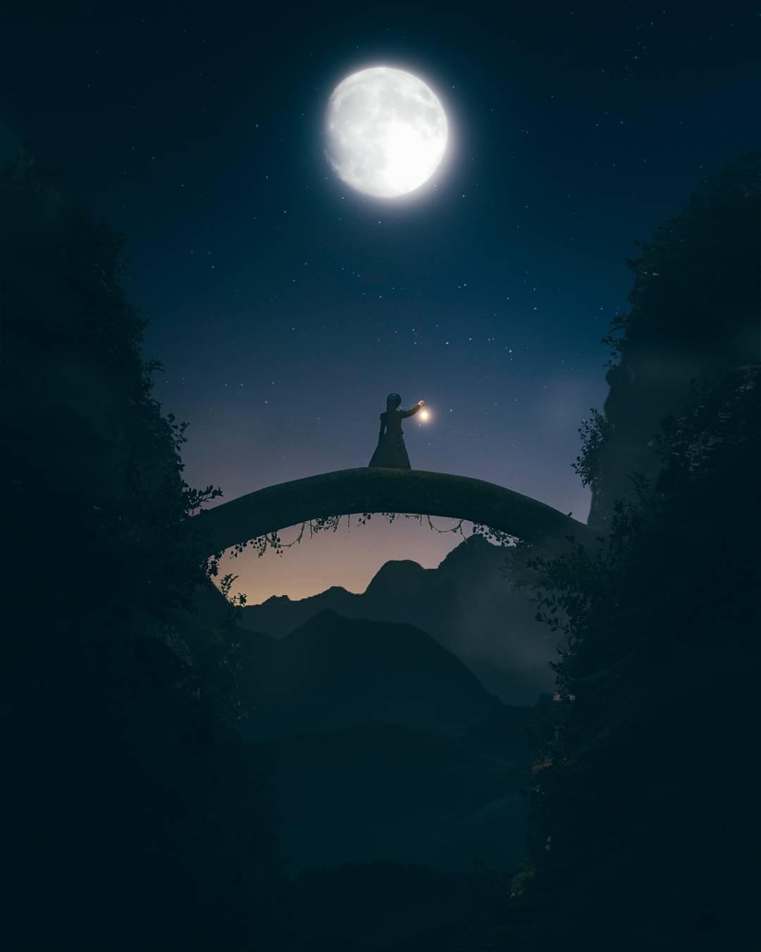 Сказочные фотоманипуляции Keane Luong
