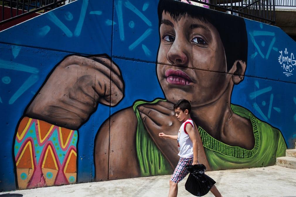 Стрит-арт в Медельине