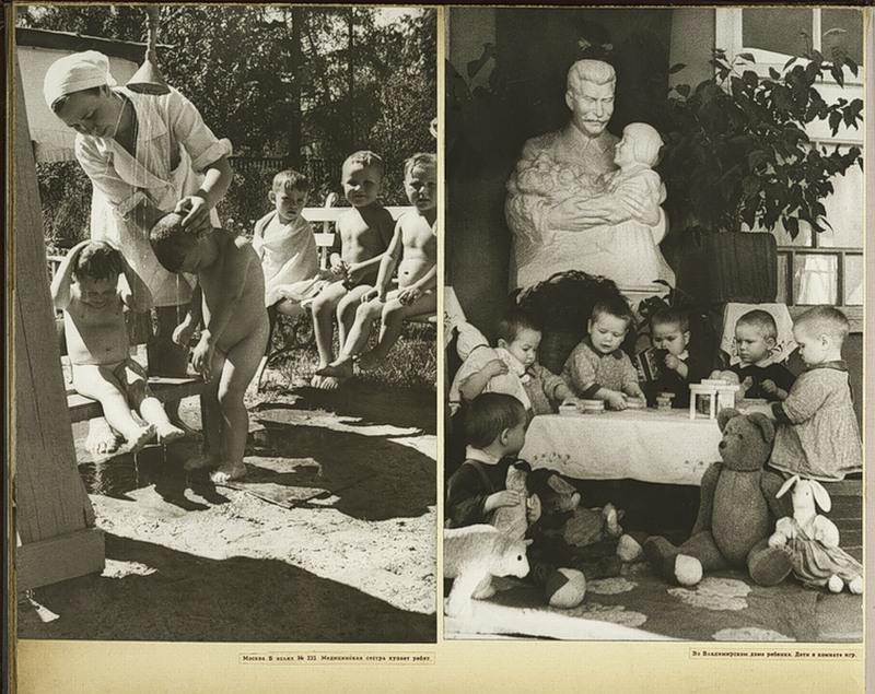 Nurse with children in Moscow - Children in Vladimir