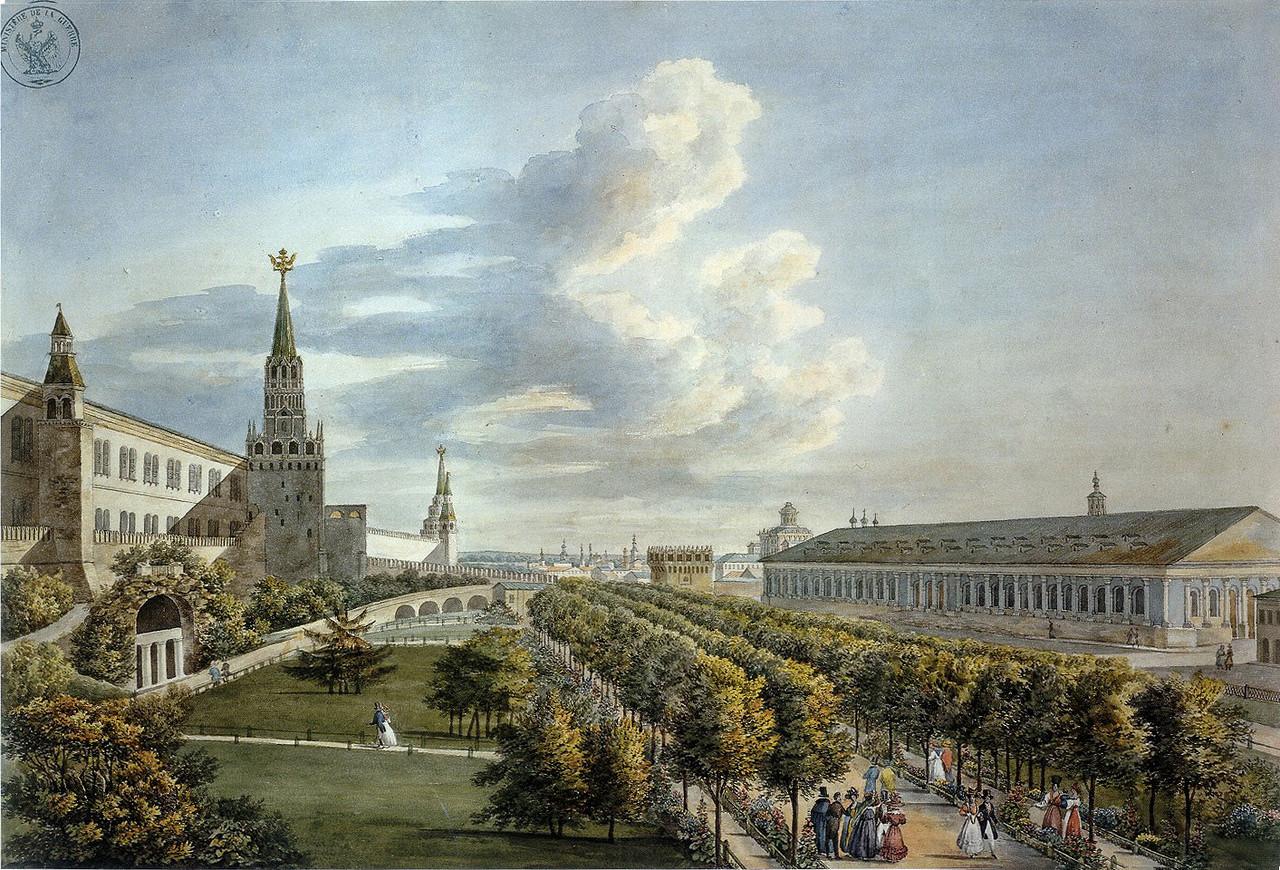 453267 Манеж и Кремлёвский сад.jpg23-24 Кадоль, Огюст-Жан-Батист-Антуан.jpg