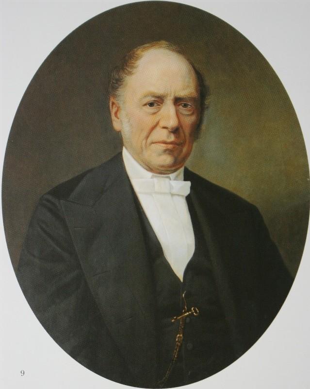 Мужской портрет  1869  ГТГ.