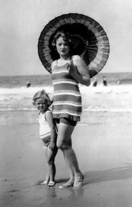 Марлен и её дочь Мария