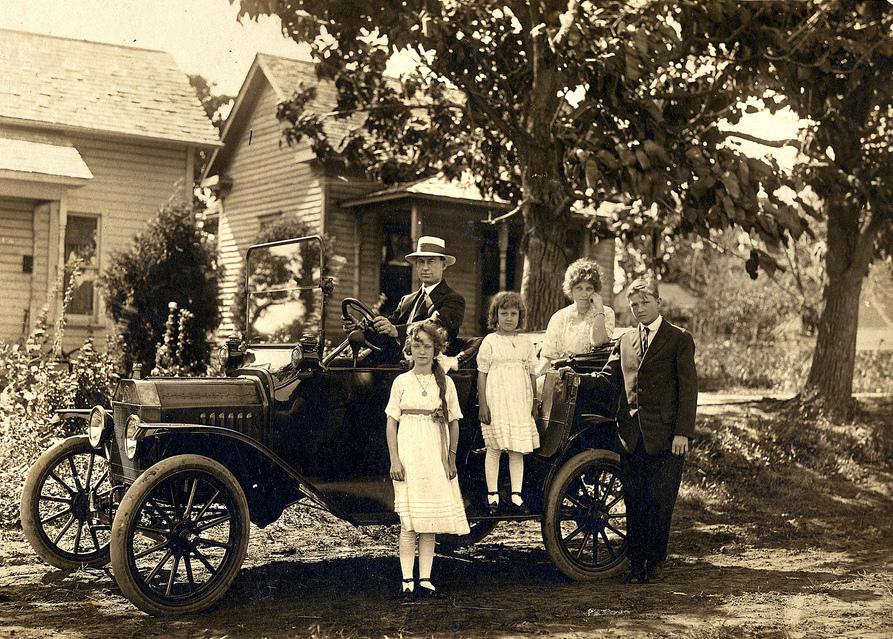 Автомобили начала XX века