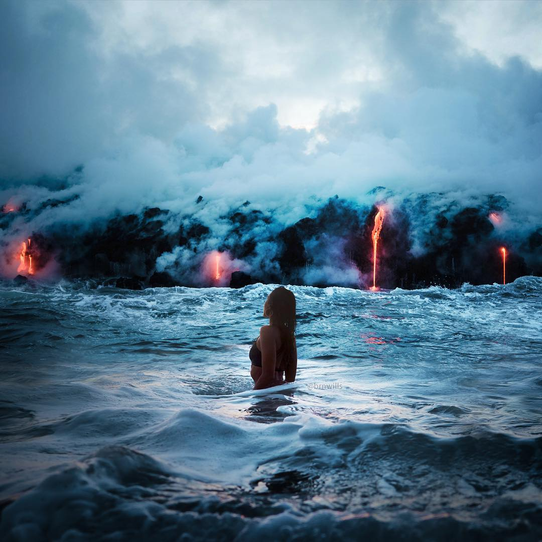 Сказочные пейзажи и приключения на снимках Брендана Уильямса