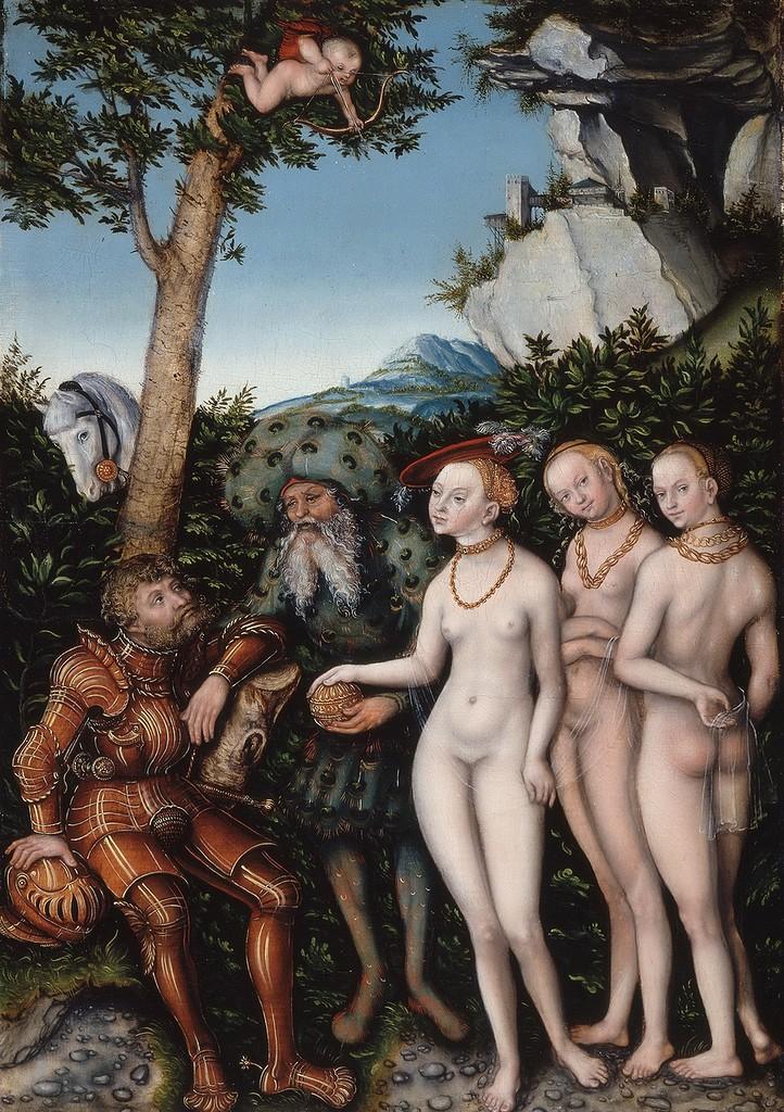 Суд Париса (The Judgment of Paris)_1530_50.8 х 36.4_Сент-Луис, Художественный музей.jpg