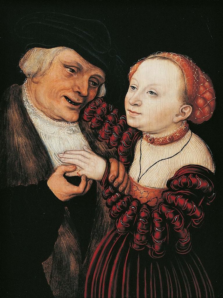 Влюблённый старик (The old man in love)_ок.1514_д.,м._Частное собрание.jpg
