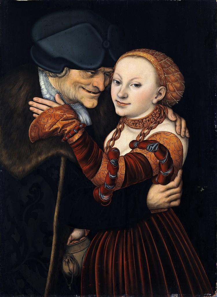 Куртизанка и старик - Старый дурак (Courtesan and old man - The old fool)_1528_77 х 57_д.,м._Мюнхен, Национальный музей Баварии.jpg
