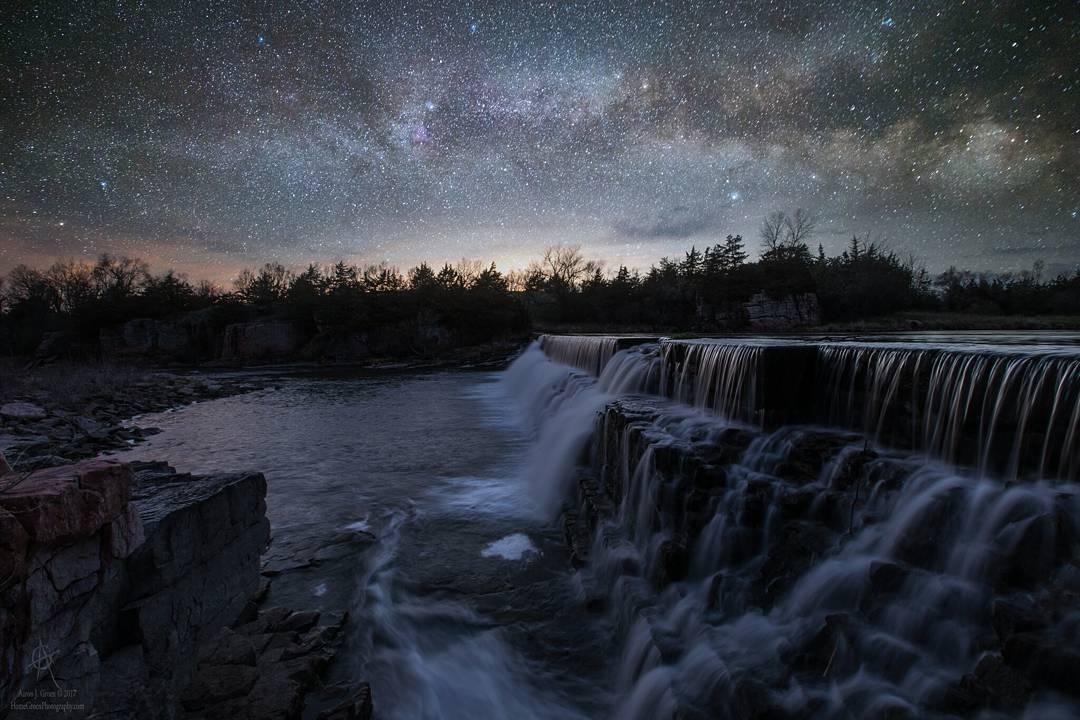 Удивительные пейзажи и астрофотографии Аарона Джей Гроэна