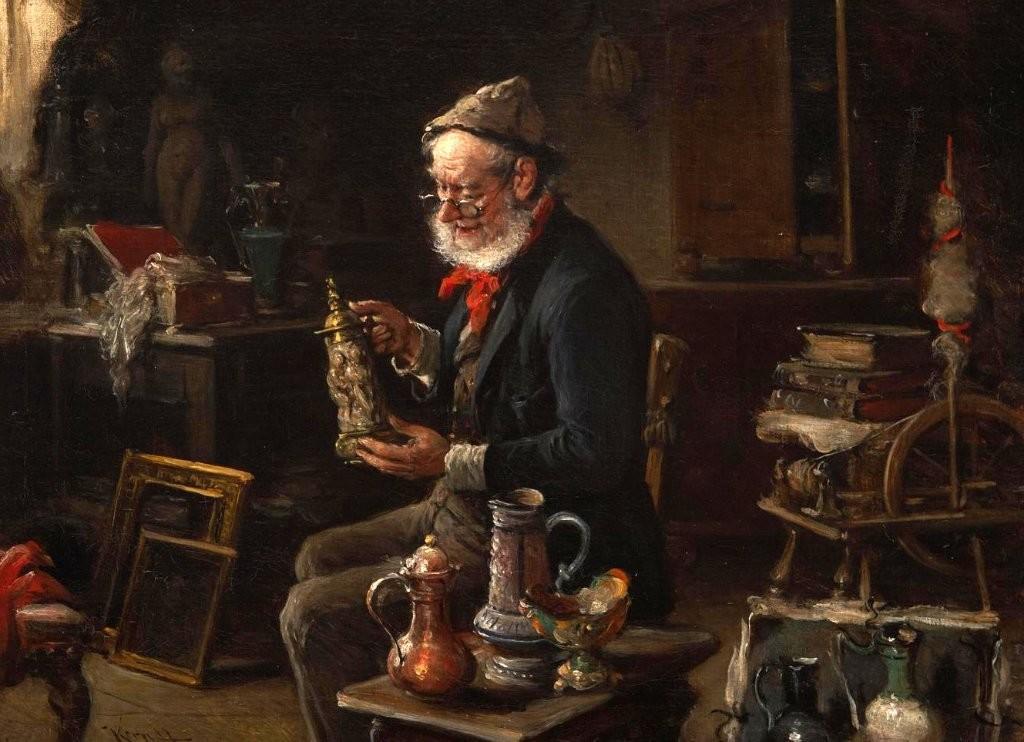 фон Керн Герман Армин. Старьевщик, 1906 Кунстхалле, Бремен.jpg