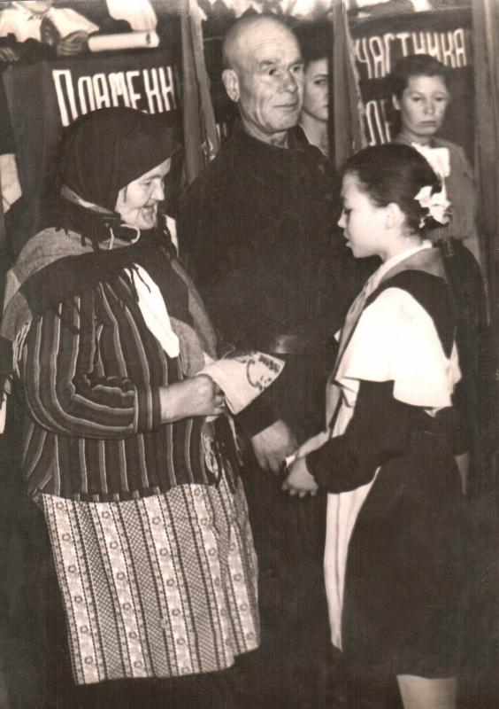 1957. Эпизод районного пионерского слета