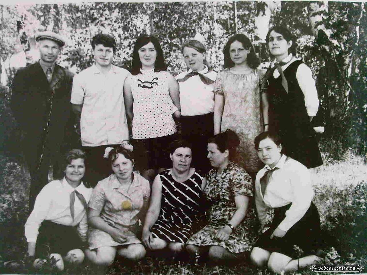 1960-е. Пионерский лагерь «Искорка»