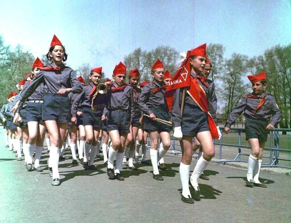 1970-ые. Пионеротряд «Чайка» в Свердловске