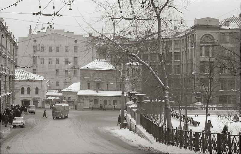 Лубянский проезд, 19.01.1964 года..jpg