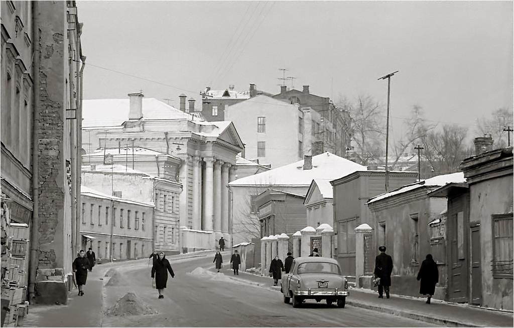 Б.Спасоглинищевский пер. Синагога, 19.01.1964 года..jpg