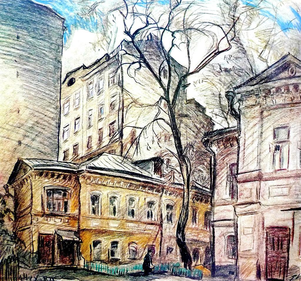kumankov-evgeniy-dvor-na-ulice-chehova-1971.jpg