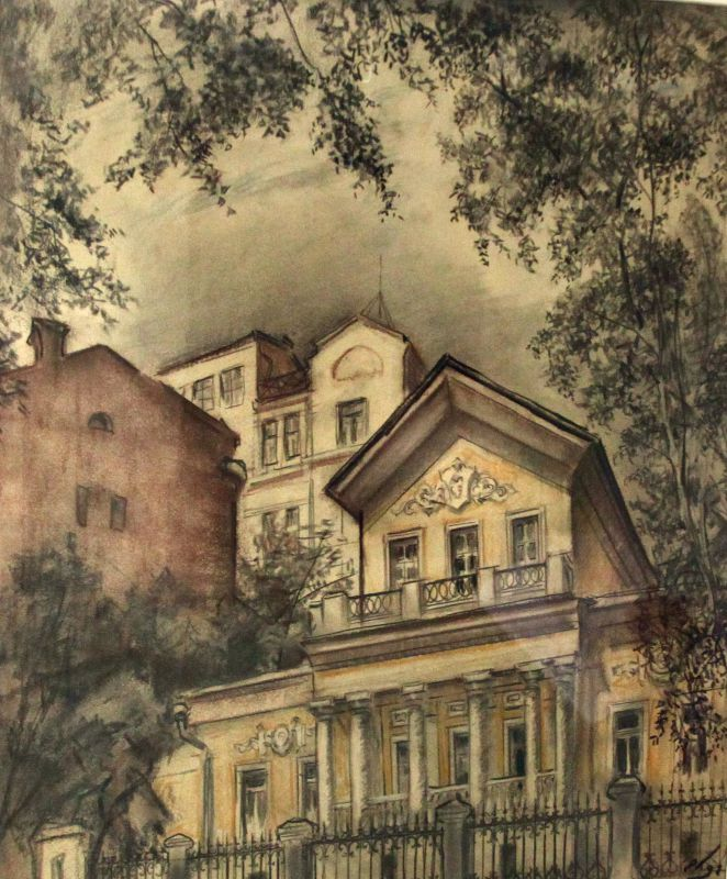 Е. Куманьков. В Чистом переулке. 1992 г..jpg