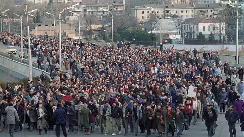 22 января 1991 года. Шествие в Тбилиси.jpg