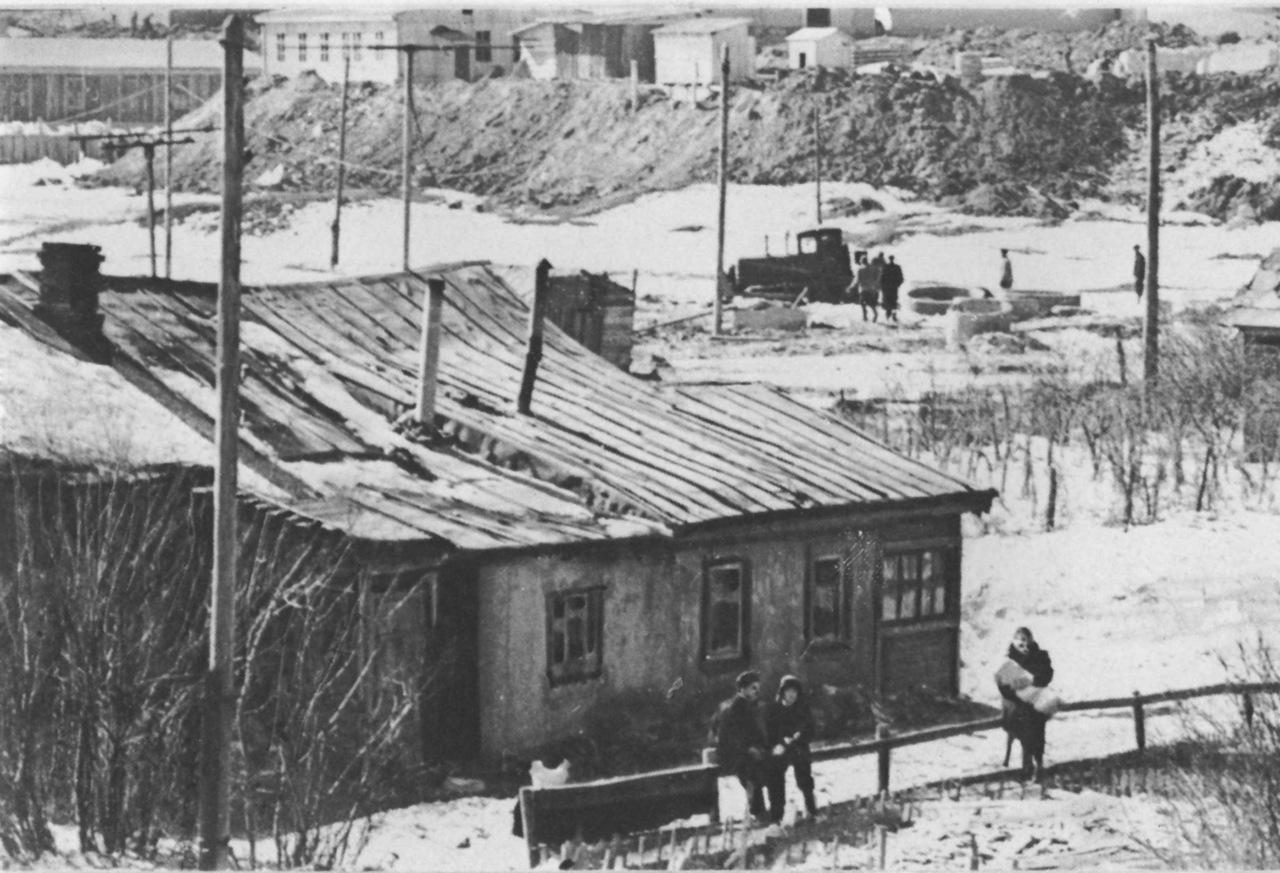На месте нынешнего Ленинского проспекта