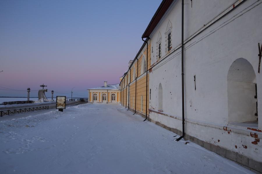 Набережная Архангельска