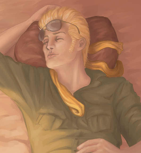 mgs__kaz_sleeping_by_herefortheties-d7xiot0