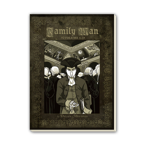 cover of Family Man by Dylan Meconis