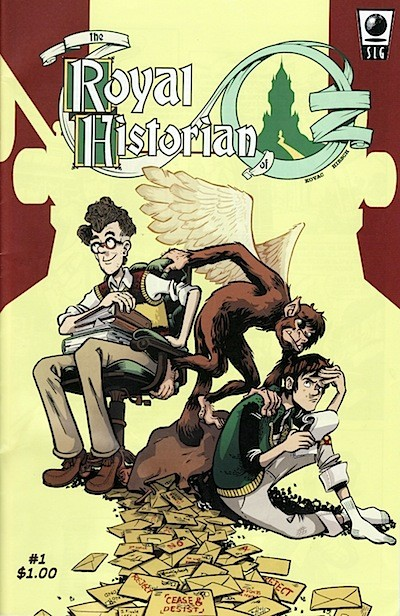 cover of finale to Royal Historian of Oz