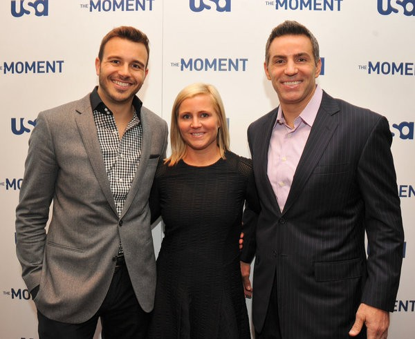 The-Moment-Charlie-Ebersol-Executive-Producer-Heather-Olander-Senior-Vice-President-Alternative-Programming-USA-Network-Kurt-Warner